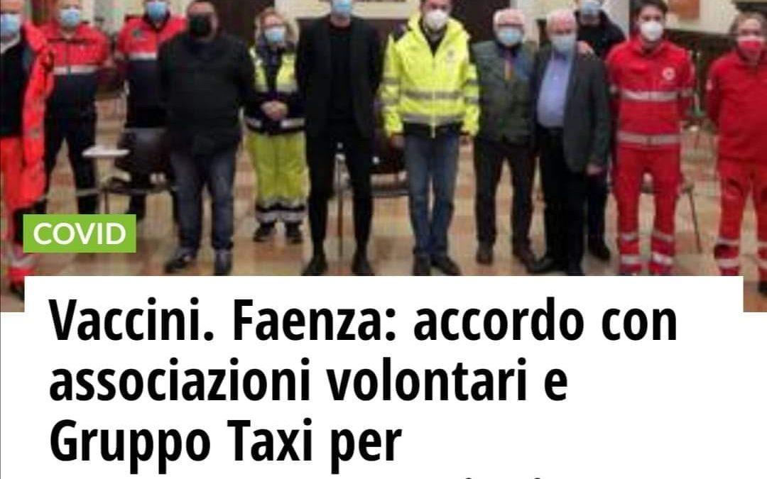 Cosmohelp aderisce al Progetto del Comune di Faenza a sostegno della Campagna Vaccinale anti-covid